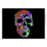 Cráneo de Psychedellic Felicitacion