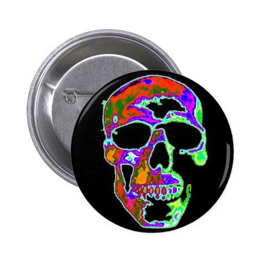 Cráneo de Psychedellic Pins