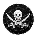 Cráneo de Rogelio de la bandera de pirata y regalo Tabla Dardos