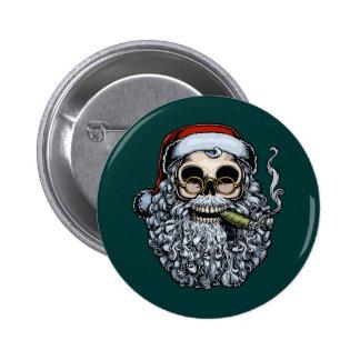 Cráneo de Smokin Santa Pin