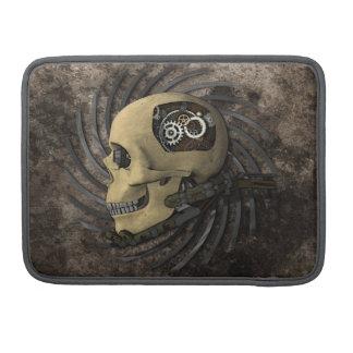 Cráneo de Steampunk Funda Para Macbook Pro
