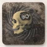 Cráneo de Steampunk Posavaso