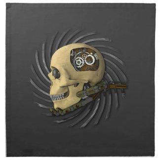 Cráneo de Steampunk Servilleta
