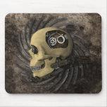 Cráneo de Steampunk Tapete De Ratón