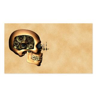 Cráneo de Steampunk Tarjetas De Visita
