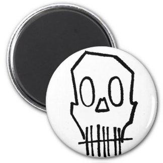 Cráneo de Toothee Mc Imán Redondo 5 Cm