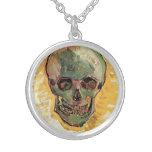 Cráneo de Van Gogh, del vintage todavía del impres Colgantes Personalizados
