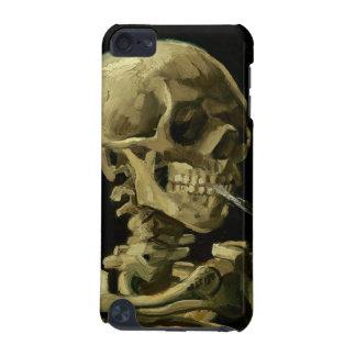Cráneo de Van Gogh el | con el cigarrillo ardiente Funda Para iPod Touch 5G