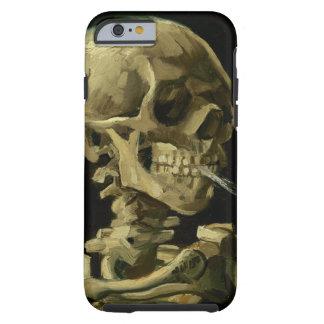 Cráneo de Van Gogh el | con el cigarrillo ardiente Funda Resistente iPhone 6