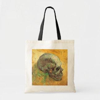 Cráneo de Vincent van Gogh, impresionismo del Bolsa Tela Barata