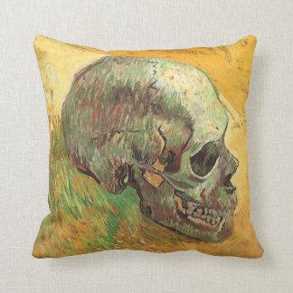 Cráneo de Vincent van Gogh, impresionismo del Cojín