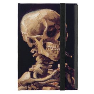 Cráneo de Vincent van Gogh que fuma Cigerette iPad Mini Cárcasas