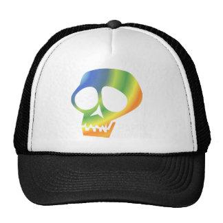 ¡Cráneo del arco iris! Gorra