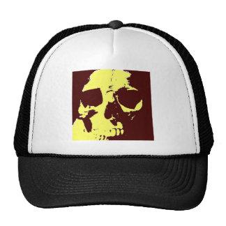 Cráneo del arte pop gorra