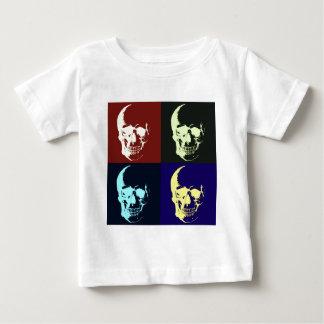 Cráneo del arte pop tshirts