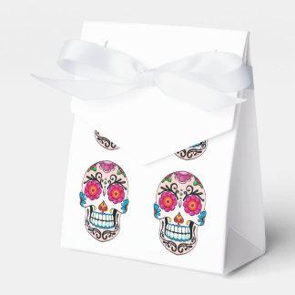 Cráneo del azúcar - arte del tatuaje caja para regalos