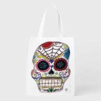 Cráneo del azúcar bolsas para la compra
