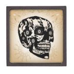 Cráneo del azúcar caja de regalo de calidad