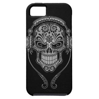 Cráneo del azúcar de DJ - oscuridad iPhone 5 Fundas