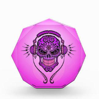 Cráneo del azúcar de DJ, púrpura