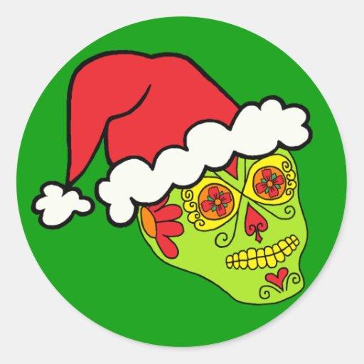 Cráneo del azúcar de Santa Pegatina Redonda