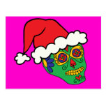 Cráneo del azúcar de Santa Postal