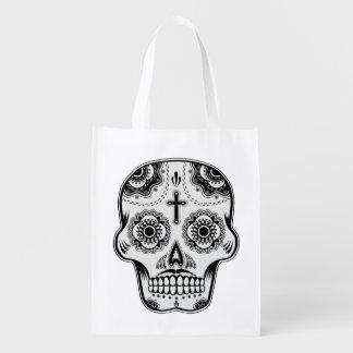 Cráneo del azúcar del bigote bolsas de la compra