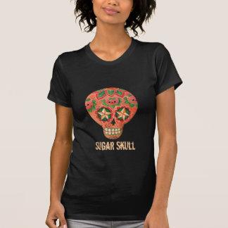 Cráneo del azúcar del gato camisetas