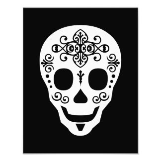 Cráneo del azúcar del señor por las pimientas de L Cojinete