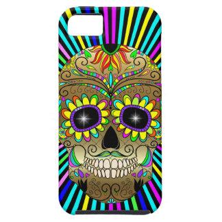 Cráneo del azúcar - día de los muertos - caso del  iPhone 5 cobertura