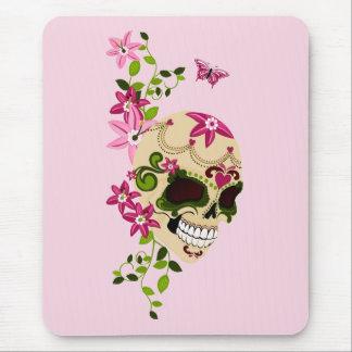 Cráneo del azúcar [Día de Muertos] Alfombrilla De Raton