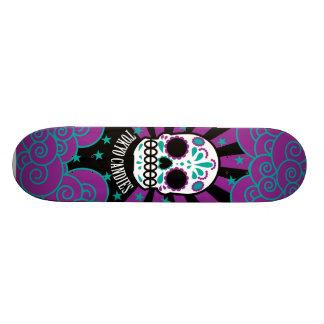 cráneo del azúcar tabla de skate