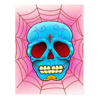Cráneo del azúcar postales