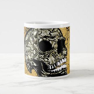 Cráneo del azúcar taza grande