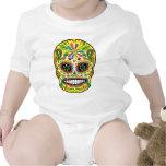 Cráneo del azúcar trajes de bebé