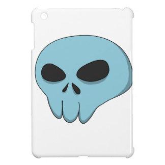 cráneo del azul del dibujo animado