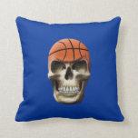 Cráneo del baloncesto cojines