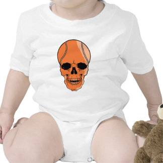 Cráneo del baloncesto trajes de bebé