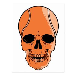 Cráneo del baloncesto postal