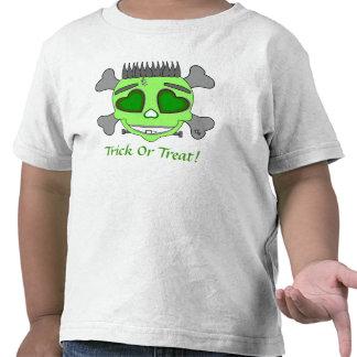 Cráneo del bebé de Franky Camisetas