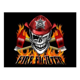 Cráneo del bombero: Guiño Tarjetas Postales