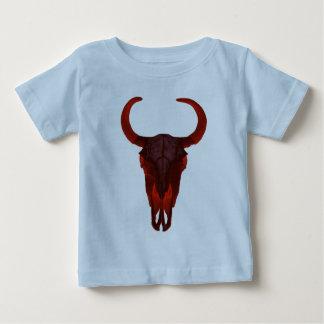 Cráneo del búfalo del diablo tee shirt