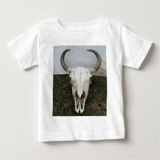 Cráneo del búfalo tshirts