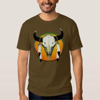 cráneo del búfalo polera