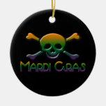 Cráneo del carnaval ornamentos para reyes magos