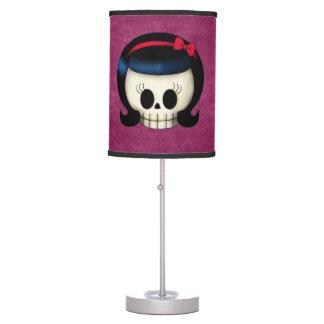 Cráneo del chica del Rockabilly