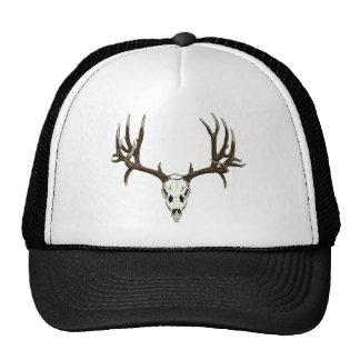 Cráneo del ciervo mula gorras de camionero