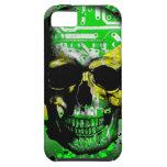 Cráneo del circuito de Jamaica iPhone 5 Case-Mate Carcasas