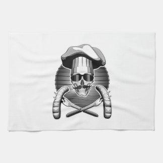 Cráneo del cocinero: Barbacoa Toalla