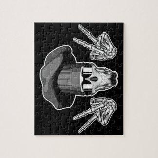 Cráneo del cocinero: Signo de la paz Rompecabezas